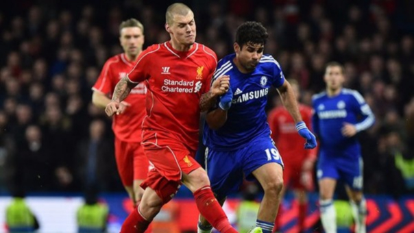 Chelsea: David Luiz 25' / Liverpool: 60'