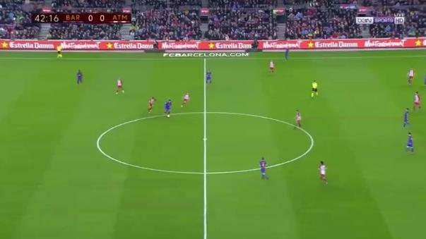 Barcelona empató 1-1 el pasado martes con Atlético, pero igual avanzó a la final de la Copa del Rey.