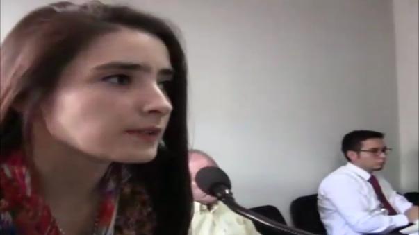 Katiuska conoció fallo judicial que declara infundado su cese de prisión.