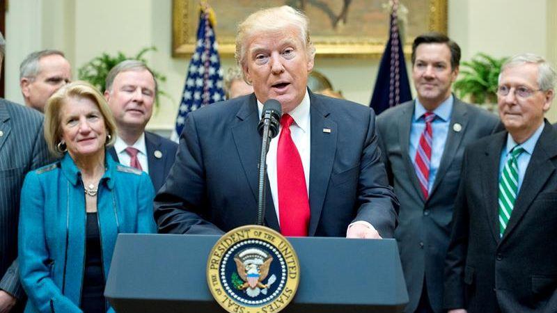 Trump rechazó la existencia de caos y fricciones dentro de la Casa Blanca.