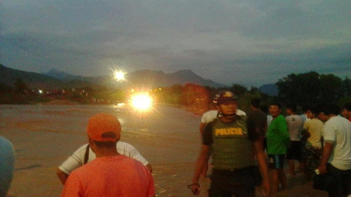 Activación de la quebrada Juana Ríos.