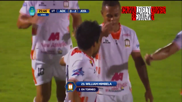 Willyan Mimbela colocó el segundo tanto para los 'Ayacuchanos'.