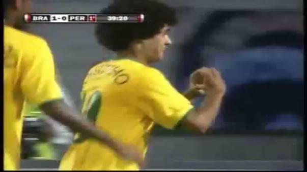 Perú 0-3 Brasil. En esta edición, la selección solo logró 3 puntos (2-1 ante Bolivia).