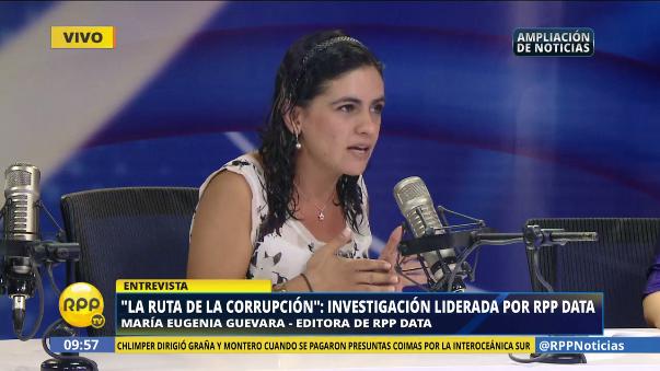 La periodista afirmó que, una vez procesadas con rigor profesional, las bases de información pública permiten conocer hechos importantes para investigaciones futuras.