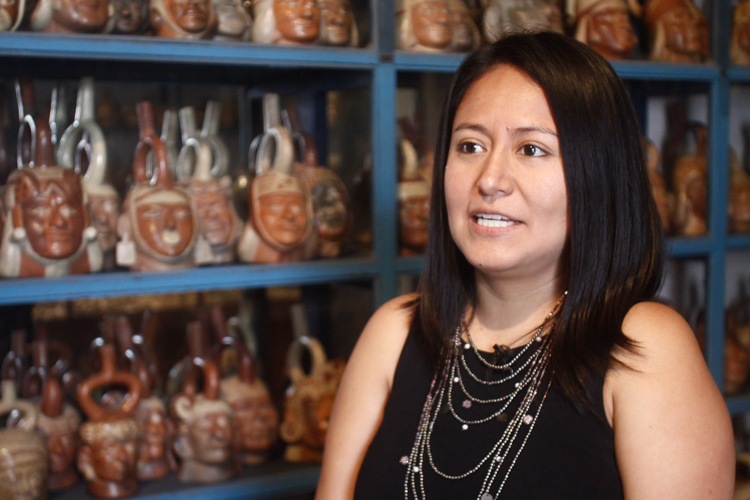 Isabel Collazos nos explica más sobre las piezas en que podemos hallar en el Museo.
