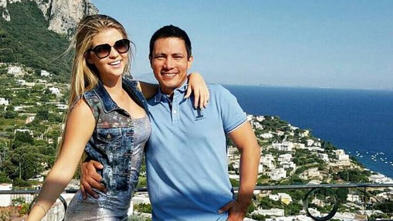 Entre lágrimas, Brunella Horna confirmó que fue Renzo Costa quien decidió finalizar la relación.