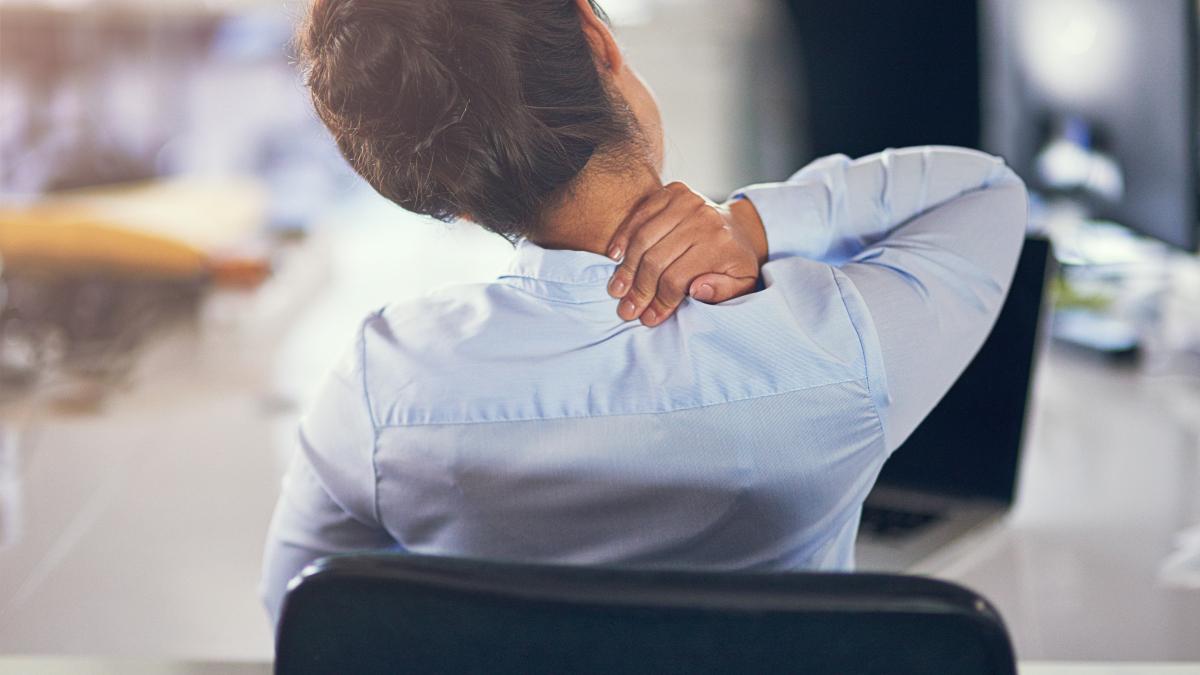 Cuando permanecemos mucho tiempo en la misma postura, la presión de las articulaciones se reduce.
