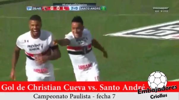 Sao Paulo se mantiene como líder del Grupo B del Campeonato Paulista.
