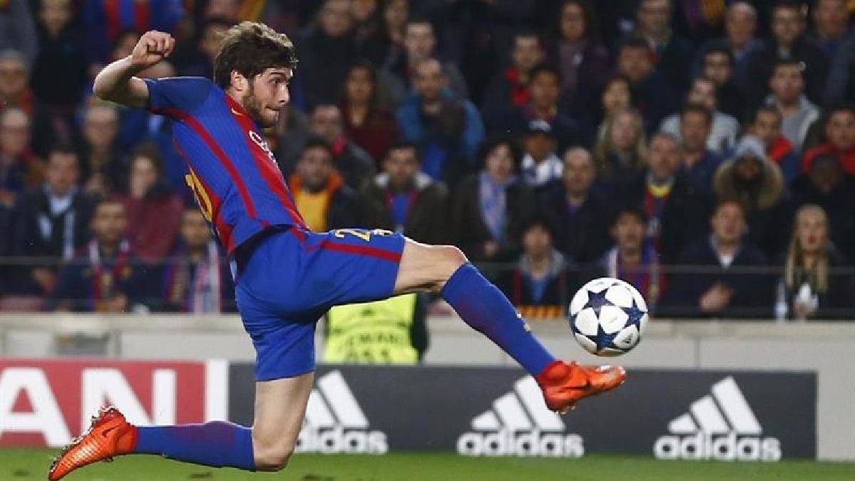 El gol de Sergi Roberto que ha entrado en la historia del fútbol.