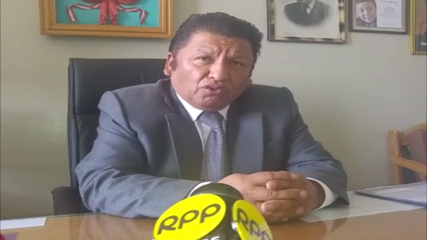 Eduardo Alatrista abogado de la familia del exalcalde de Juliaca.