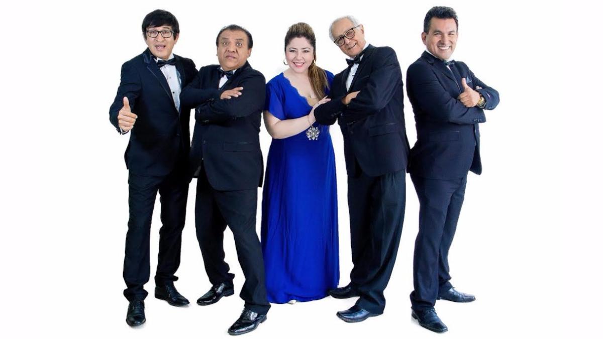 Tras su alejamiento de 'Los Chistosos', en 2008, Fernando Armas se reúne con el elenco del exitoso programa de RPP Noticias.