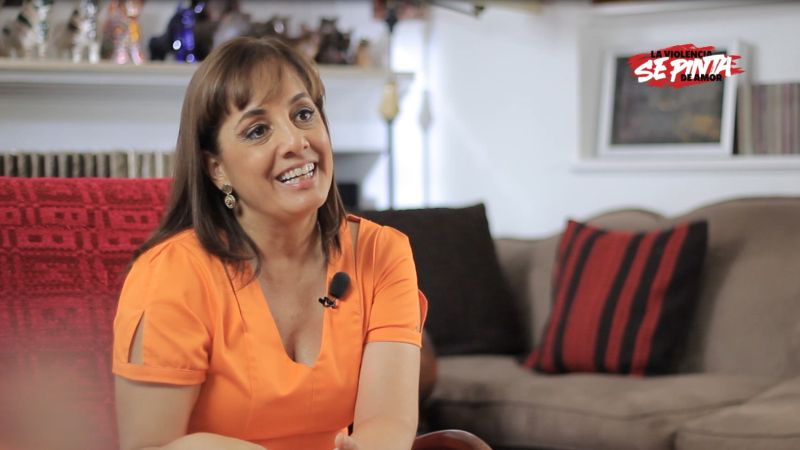 Patricia del Ríos es conductora del programa Tiempo Real de RPP TV.