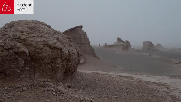 Este es el lugar más caliente de la tierra: el desierto de Lut.