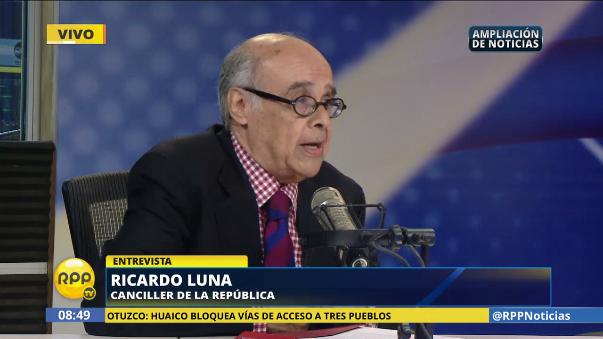 Canciller no cree en las afirmaciones que del congresistas de Peruanos por el Kambio, Gilbert Violeta, quien hace unos días dijo que un cambio de gabinete podrías realizarse en julio.