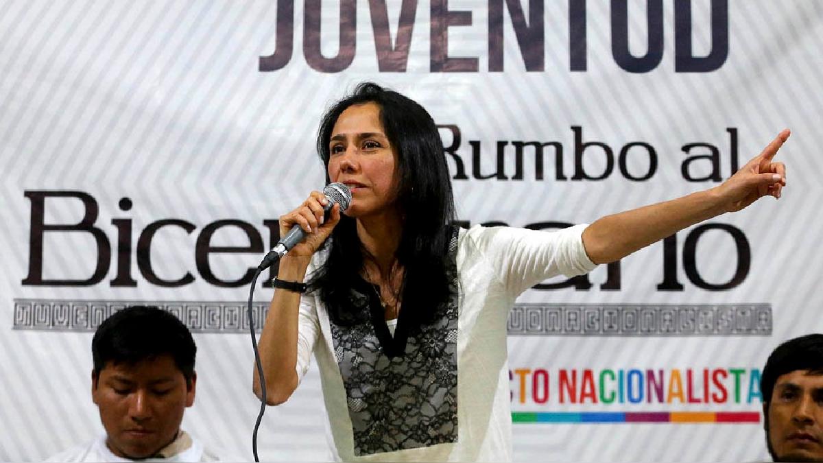 Nadine Heredia es investigada por los aportes al Partido Nacionalista en la campaña electoral de 2006 y 2011.