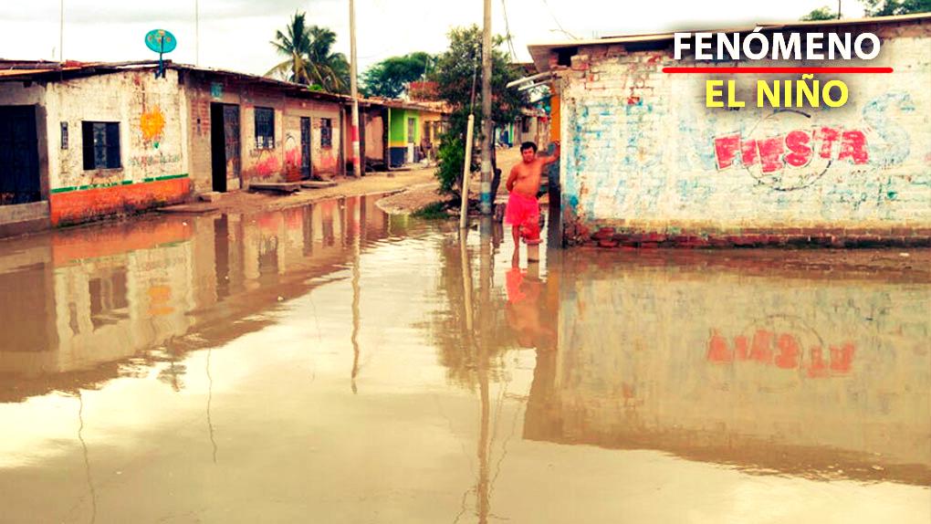 El norte del país soporta intensas lluvias. Piura es una de las regiones más afectadas.
