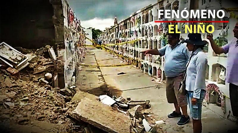 Los pabellones colapsados correspondían a niños que habían sido enterrados en el cementerio.