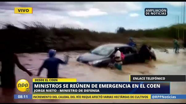 Jorge Nieto dijo que las autoridades locales no ejecutaron el dinero que se les asignó para la emergencia.
