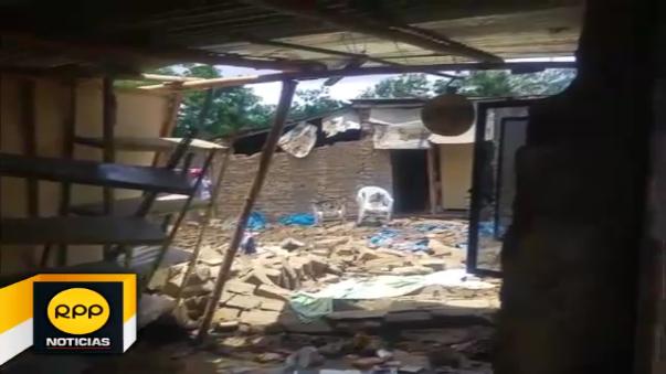 Otras viviendas se debilitaron y corren el riesgo de colapsar durante próximas lluvias.