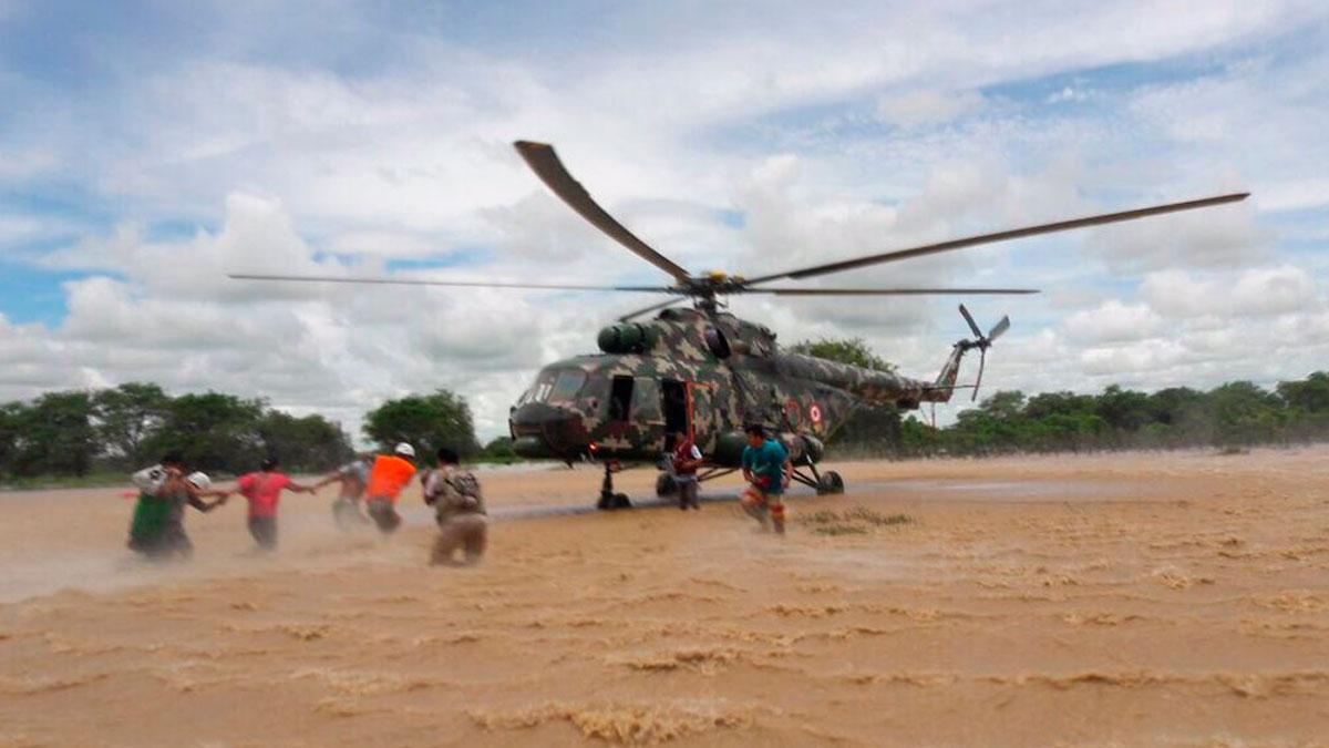 Así fue el rescate por parte del Ejército.