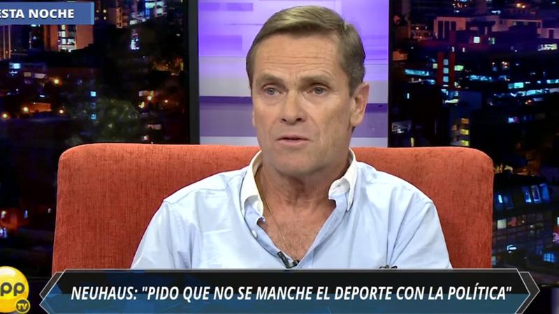 Carlos Neuhaus conversó con RPP Noticias sobre la organización de los Panamericanos 2019