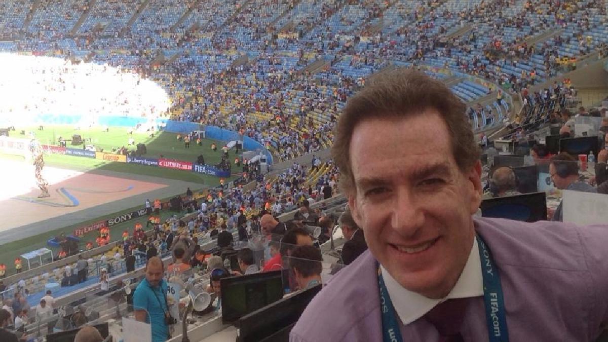 Eddie Fleischman, periodista deportivo de RPP Noticias