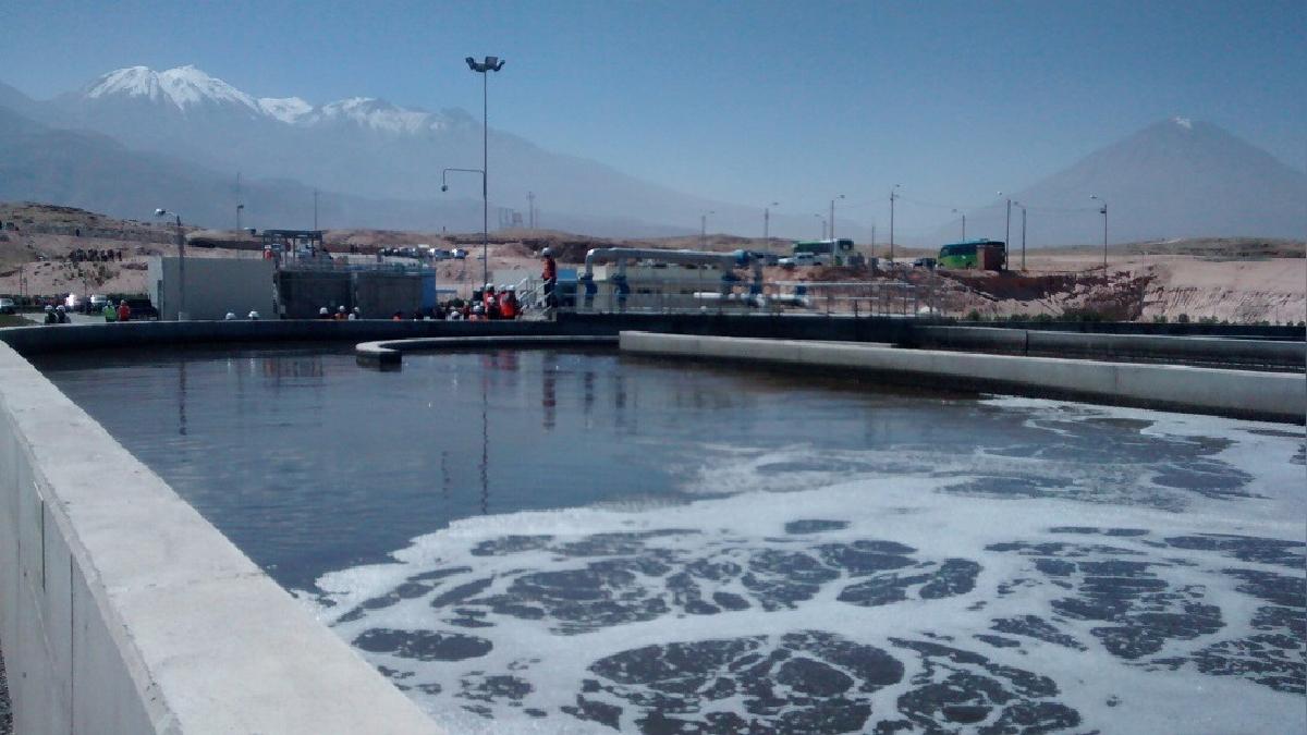 Desde esta noche se restablece el servicio básico de agua potable en la ciudad.