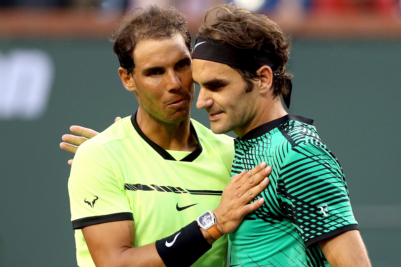Roger Federer logró su tercera victoria consecutiva sobre Rafael Nadal.