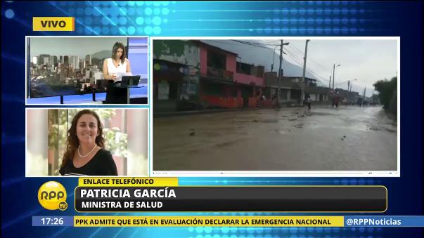Patricia García inspeccionó los servicios de salud de Chosica.
