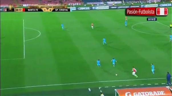 El gol del equipo 'Cardenal' llegó a los 10 minutos del primer tiempo.