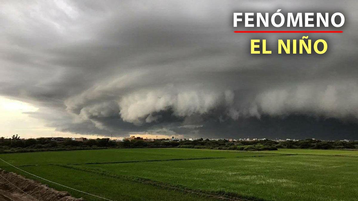 La gigantesca nube preocupó a los chiclayanos.