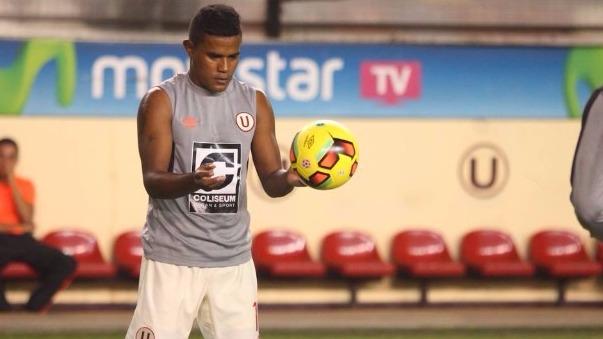Jersson Vásquez es uno de los refuerzos de Universitario para la temporada 2017.