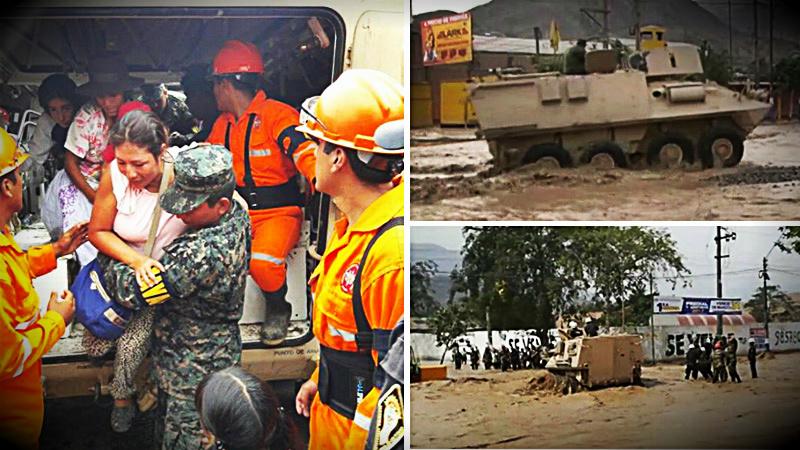 El rescate se dio en una zona paralela a la carretera Ramiro Prialé.