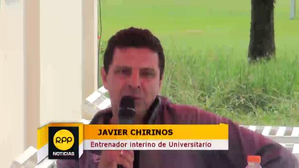 Javier Chirinos se hará cargo del equipo hasta que llegue el nuevo entrenador de Universitario.