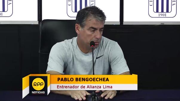Pablo Bengoechea contó los partidos que tendrá Alianza Lima para no perder el ritmo.