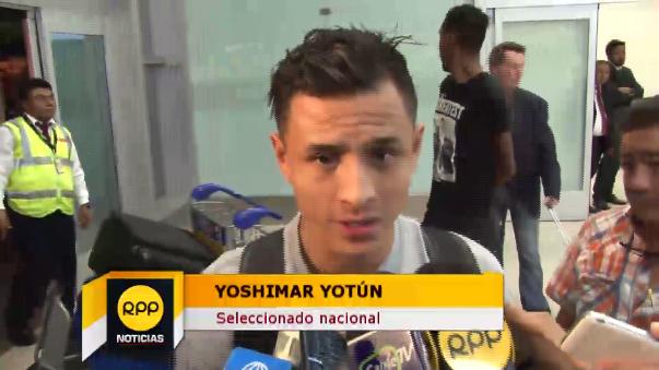 Yoshimar Yotún no ha jugado partidos oficiales con el Malmö, pero afirmó estar en buena forma para las Eliminatorias.