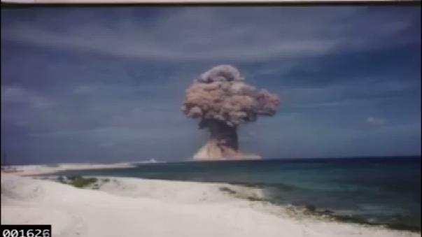 Estados Unidos realizó 210 ensayos nucleares en 17 años.