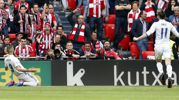 Revisa aquí todos los goles del Athletic Club 1-2 Real Madrid.