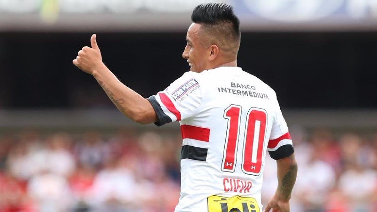Revisa el gol de Christian Cueva para el Sao Paulo.
