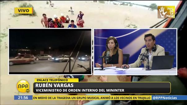 Vargas descartó que se trate de un incendio provocado.