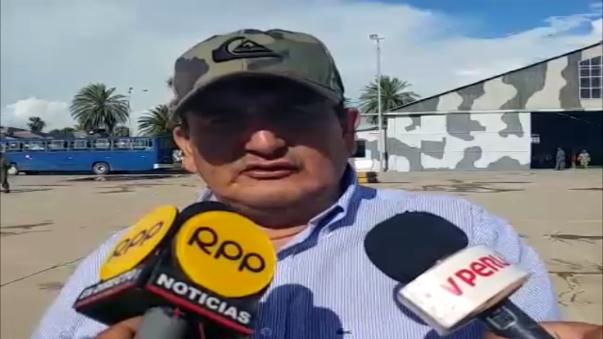 Gobernador de Lambayeque Humberto Acuña