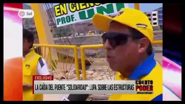 Puente Solidaridad costó más de tres millones de soles.