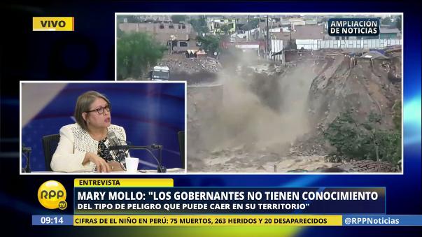 Mollo también destacó la importancia de educar a la población para que ocupen territorios responsablemente.