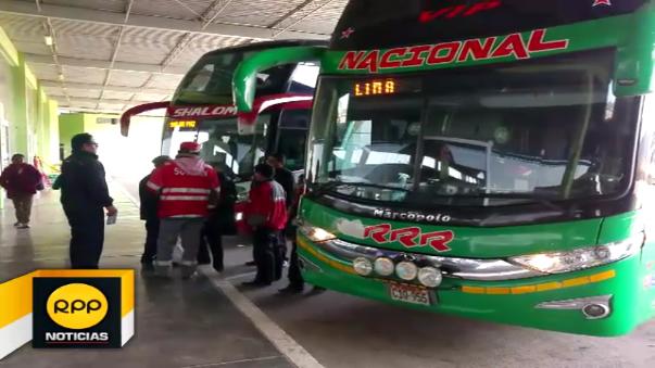 Tras disposición del Ministerio de Transportes, la Sutran – Junín ejecutó la restricción de los vehículos M1 (autos), M2 (minivan) y de carga pesada en la vía nacional.
