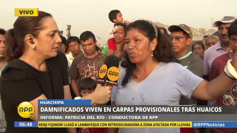 Los vecinos de la urbanización Santa María Baja acusaron a una comunidad cristiana de distribuir las donaciones entre personas que no lo necesitan.