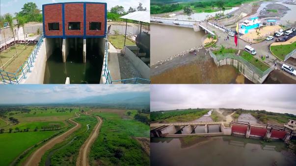 Las principales megaobras de Cañar y Naranjal evitan el impacto de lluvias e inundaciones en varias provincias costeras de Ecuador.