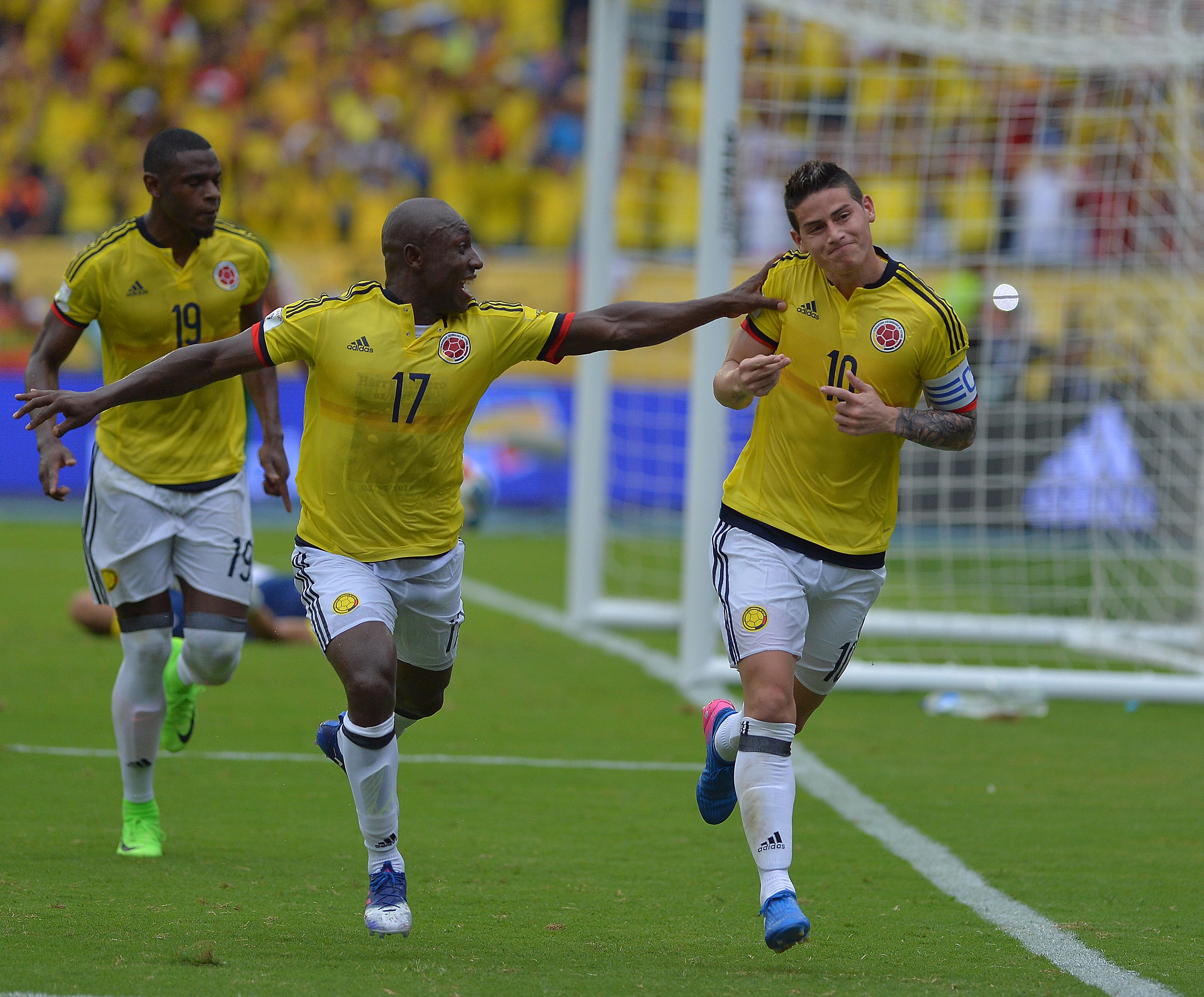 James Rodríguez le dio el triunfo ajustado a Colombia ante Bolivia.