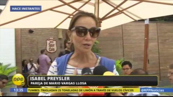 Isabel Preysler habló con RPP Noticias