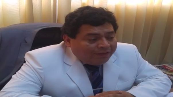Milton Jiménez director del Hospital Honorio Delgado.