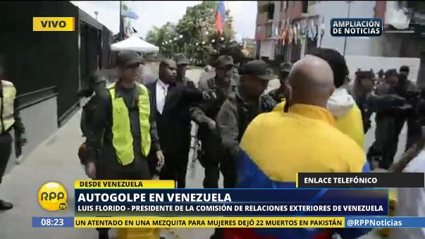 El diputado opositor Luis Florido dijo que este es un retroceso del chavismo, pero que la situación política de su país sigue siendo grave.